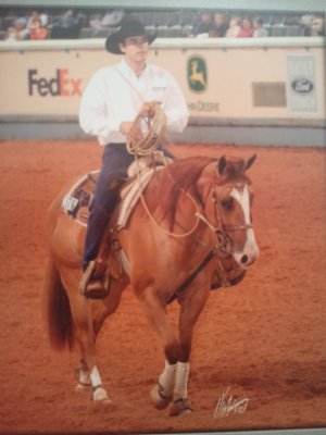 Zan Parr Lindy - AQHA World Show Finalist - Tiedown Roping